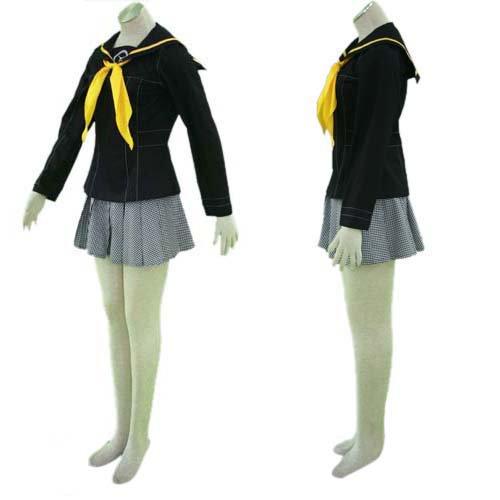Persona 4 School Uniform Halloween Cosplay Costume
