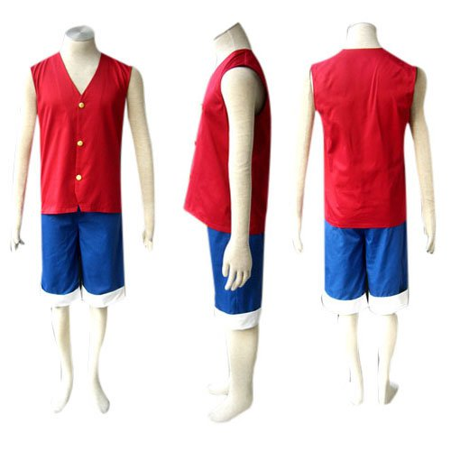 Unusual One Piece Luffy Halloween Cosplay Costume