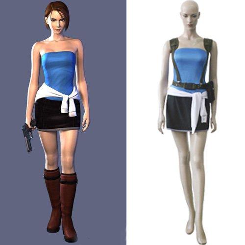 Resident Evil 3 Jill Valentine Halloween Cosplay Costume