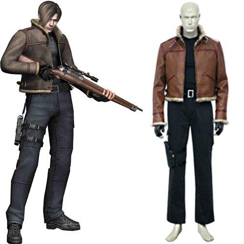 Resident Evil 4 Leon S. Kennedy Halloween Cosplay Costume