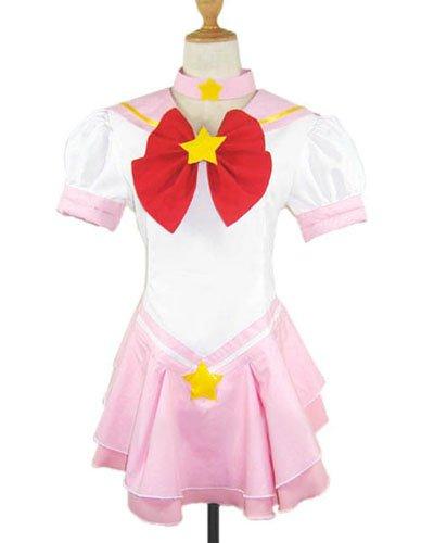 Sailor Moon Sailor Chibi Moon Chibiusa Halloween Cosplay Costume
