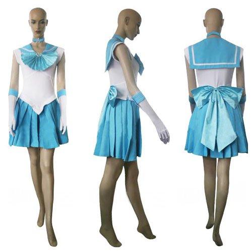 Sailor Moon Sailor Merkury Halloween Cosplay Costume