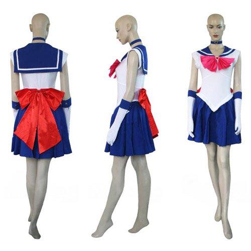 Sailor Moon Sailor Saturn Hotaru Tomoe Halloween Cosplay Costume