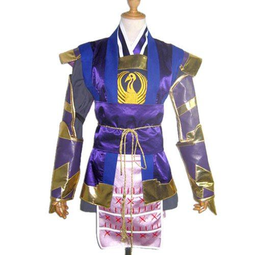 Samurai Warriors Ranmaru Mori Halloween Cosplay Costume