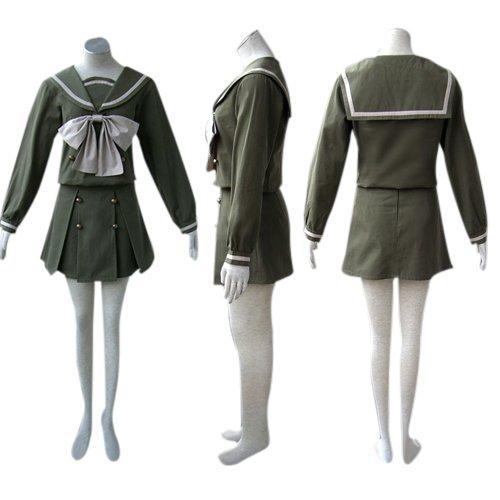 Shakugan No Shana Halloween Cosplay winter Uniform