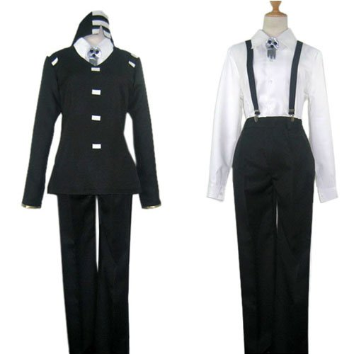 Soul Eater Death the Kid Cosplay Costume-Halloween