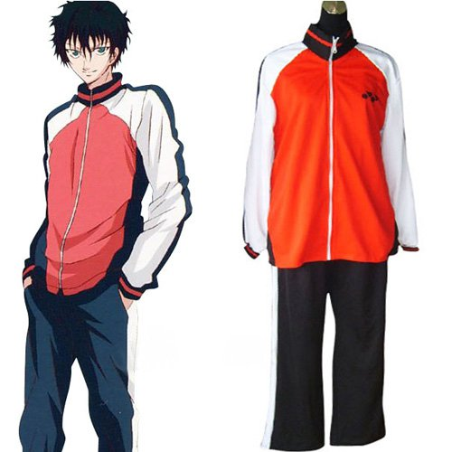 Prince Of Tennis Selections Team Winter Uniform Halloween Cosplay Costume