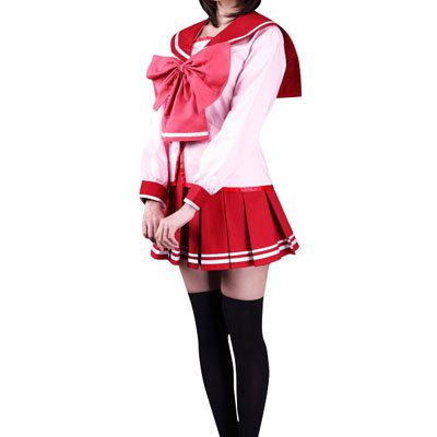 To Heart Long Sleeves Halloween Cosplay Costume