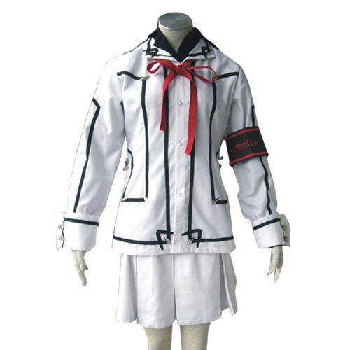 Vampire Knight Night Class Girl Kurosu Yuuki Halloween Cosplay Costume