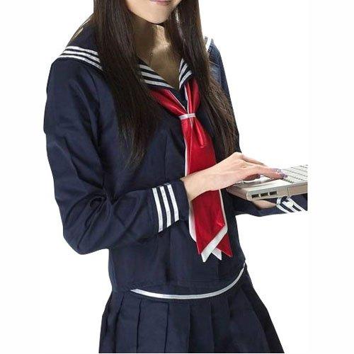 Cheap Top Unusual Cheap Long Sleeves School Uniform Halloween Cosplay Costume