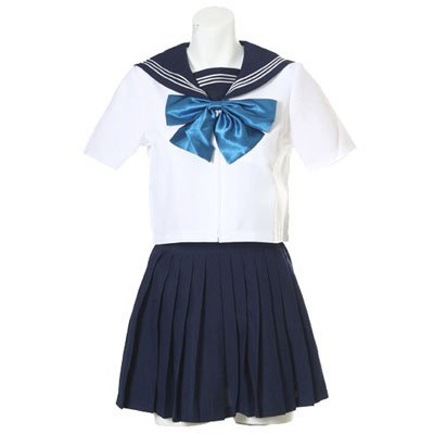Perfect Short Sleeves Sailor School Uniform Halloween Cosplay Costume