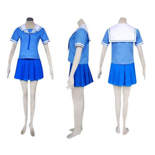 Azumanga Daioh Shool Uniform Summer Halloween Cosplay Costume