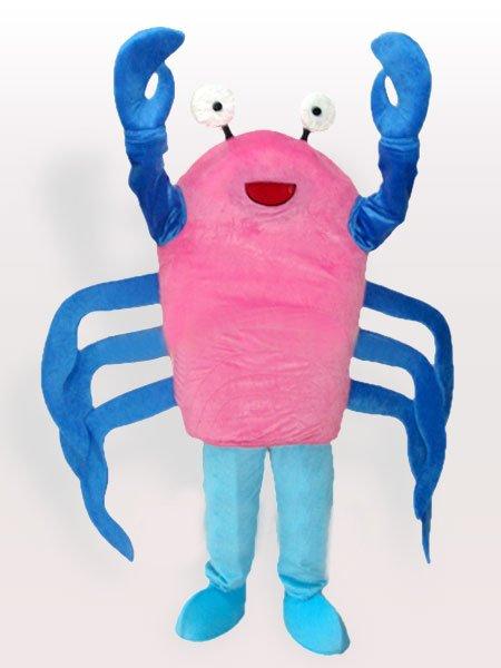 Cartoon Crab Adult Mascot Costume