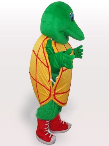 Green Tortoise Adult Mascot Costume