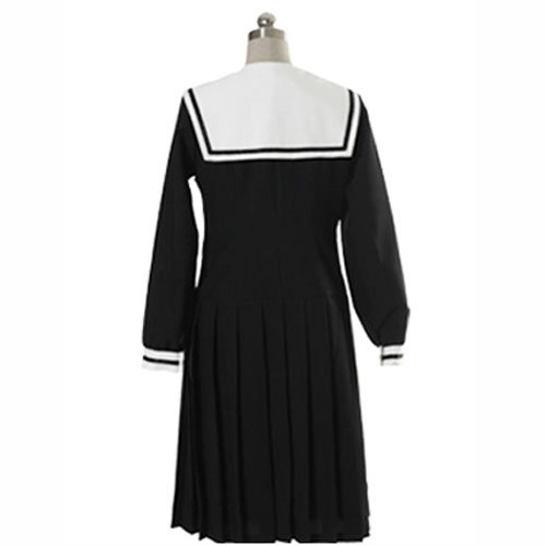 Black Long Sleeves Dress School Uniform