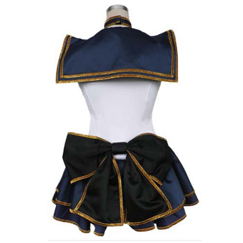 Sailor Moon Meiou Setsuna Cotton Polyester Halloween Cosplay Costume