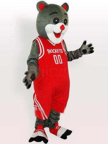 Rocket Bear Adult Mascot Costume
