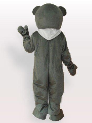 Superior Bear Short Plush Adult Mascot Costume
