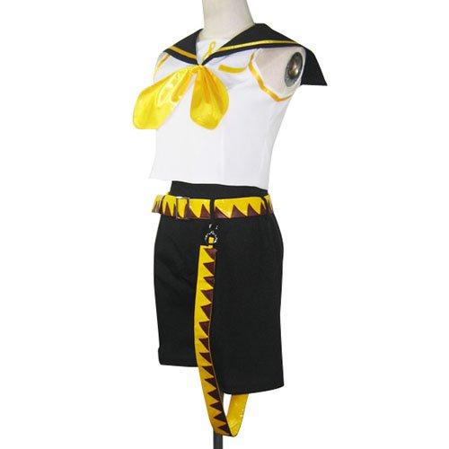 Vocaloid Kagamine Rin Halloween Cosplay Costume