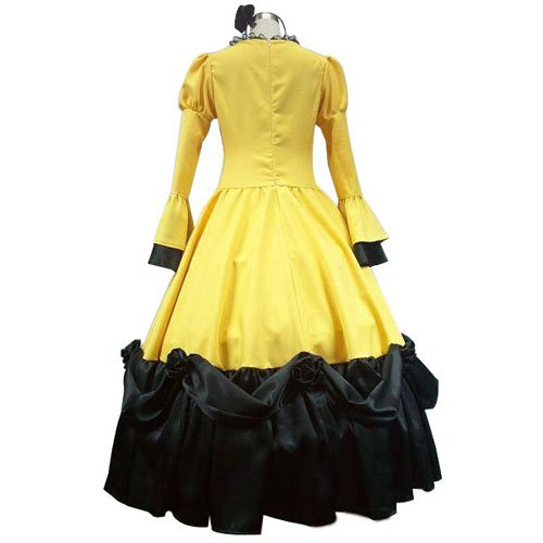 Vocaloid Rin Kagamine Yellow Halloween Cosplay Costume