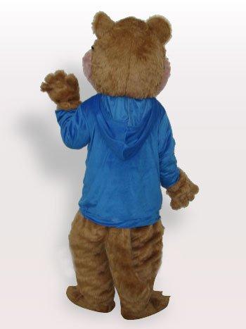 Blue Squirrel Plush Adult Mascot Costume