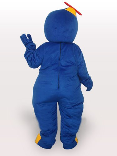 Blue Yellow Penguin Adult Mascot Costume