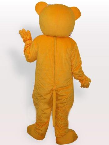 Clown Bear Short Plush Adult Mascot Costume