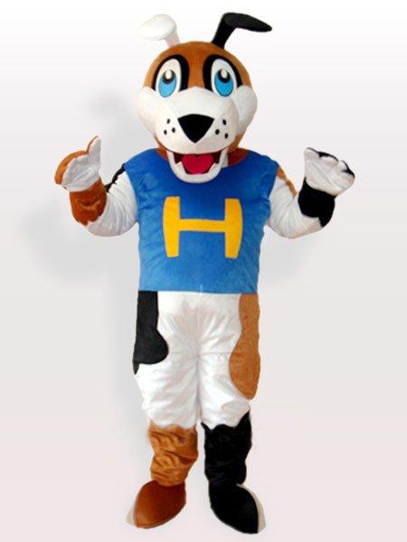 H Dog Adult Mascot Costume