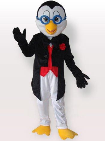 Ideal Penguin Short Plush Adult Mascot Costume