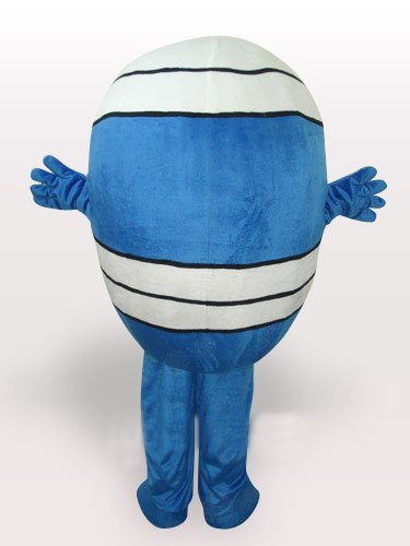 Mr Wrestling Short Plush Adult Mascot Costume