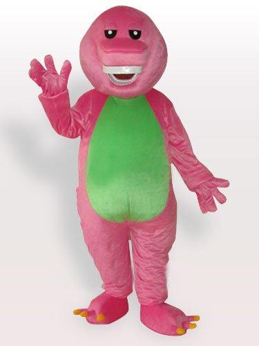 Pink Banny Adult Mascot Costume