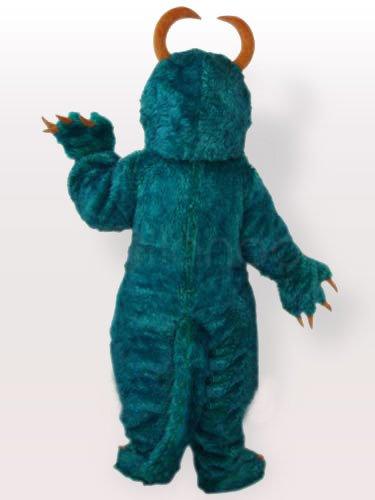 Plush Blue Pongo Adult Mascot Costume