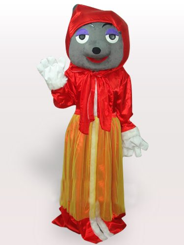Red Wolf Adult Mascot Costume