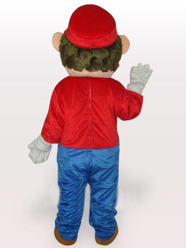 Captain Plush Adult Mascot Costume