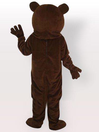 Ideal Brown Bear Adult Mascot Costume