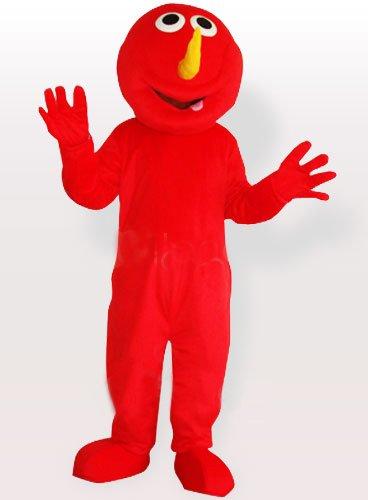 Red Devil Adult Mascot Costume