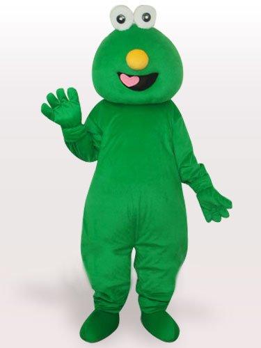Short Hair Green Monster Short Plush Adult Mascot Costume