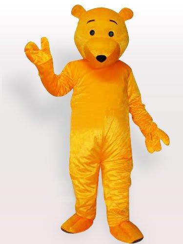 The Cartoon Bear Adult Mascot Costume