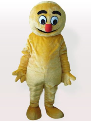 Yellow Boogie Man Adult Mascot Costume