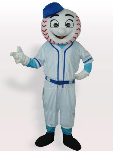 Baseball Man Adult Mascot Costume