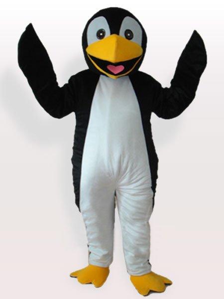 Black Penguin Adult Mascot Costume