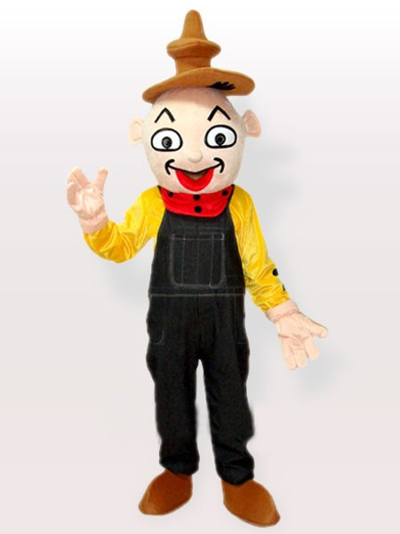 Ideal The Clown Adult Mascot Costume