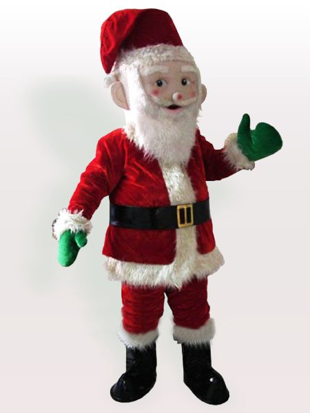 Santa Claus Adult Mascot Costume