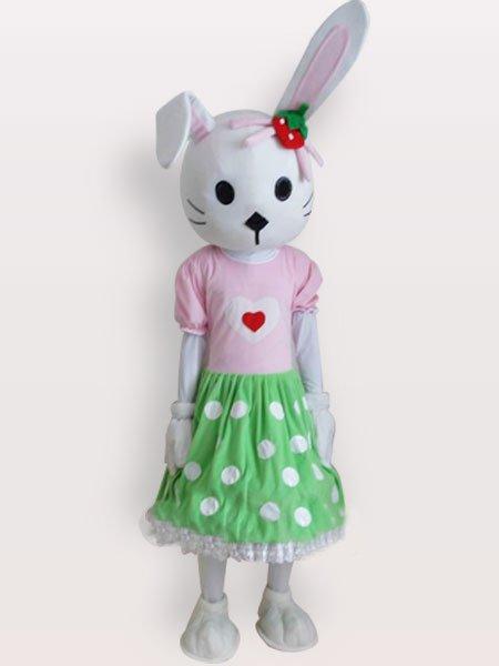 Cheap Rabbit Short Plush Adult Mascot Costume