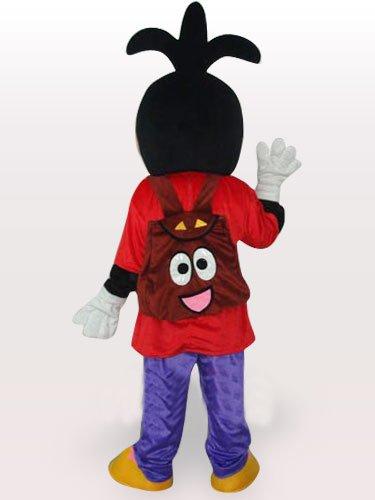 Goofy Dog\'s Son Short Plush Adult Mascot Costume