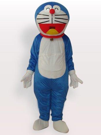 New Doraemon Short Plush Adult Mascot Costume