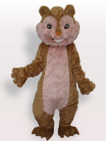 Popular Squirrel Plush Adult Mascot Costume