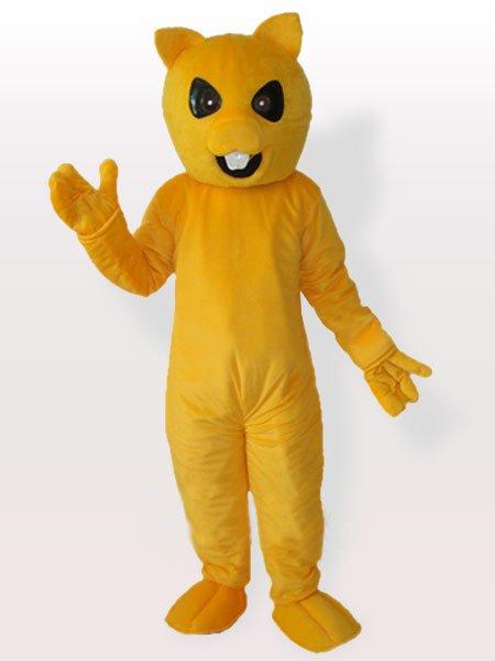 Yellow Chipmuck Adult Mascot Costume
