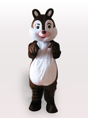 Cheap Little Squirrel Adult Mascot Costume
