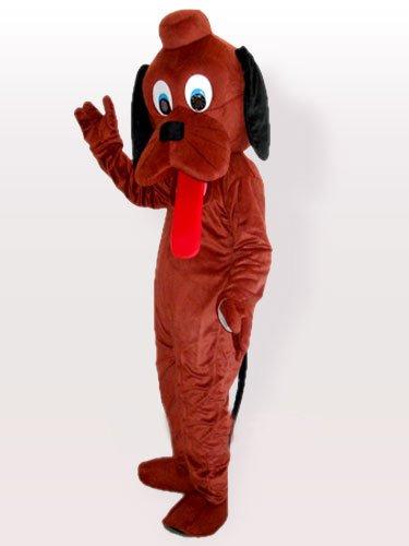 Hey Dog Brown Adult Mascot Costume